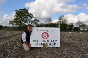 Asparagus grower Jonathan Cave, of West Rudham, Norfolk